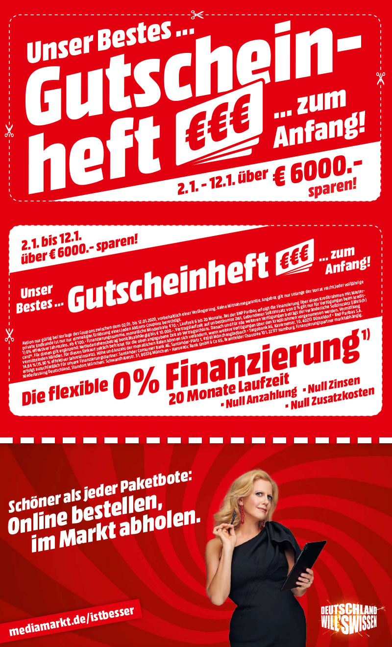 Mediamarkt Couponheft